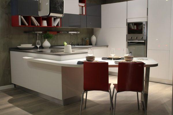 Nové zařízení kuchyně