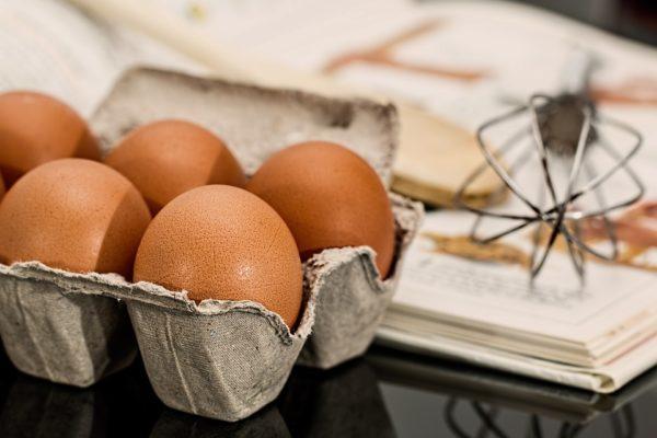 Menší plato vajec