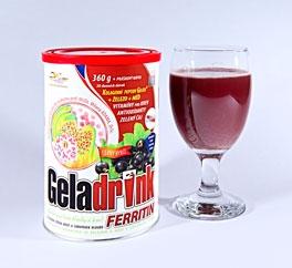 Geladrink Ferritin - nápoj